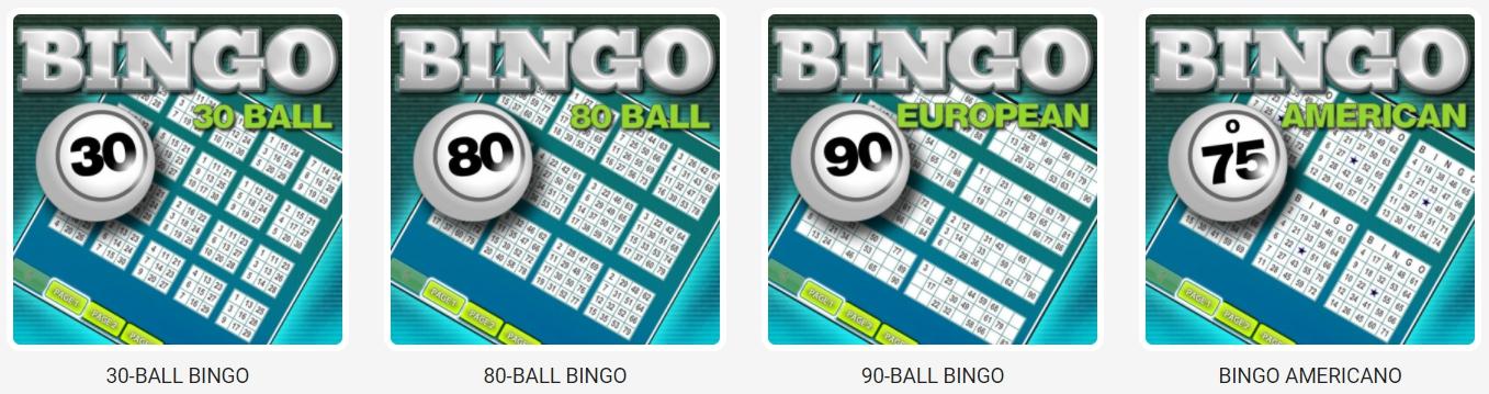 30 Ball, 75 Ball, and 80 Ball Bingo
