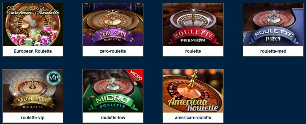Casino Napoli: Table and live dealer games