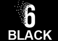 6 black casino logo