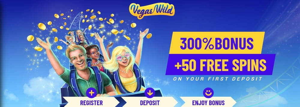 vegas wild casino welcome bonus