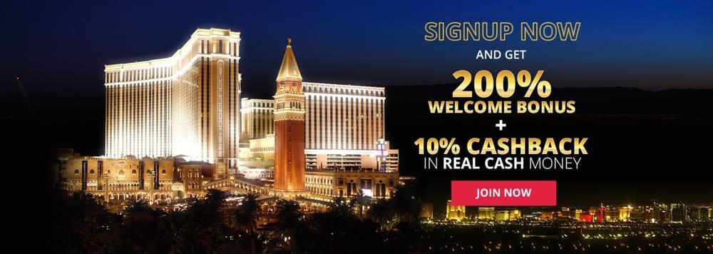 casino venetian welcome bonus