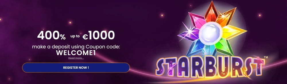 starburst slot UK bonus