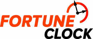 fortune clock logo