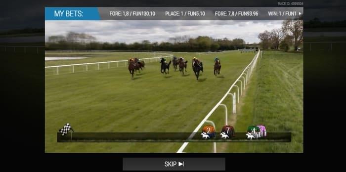 virtual horse racing not on gamstop