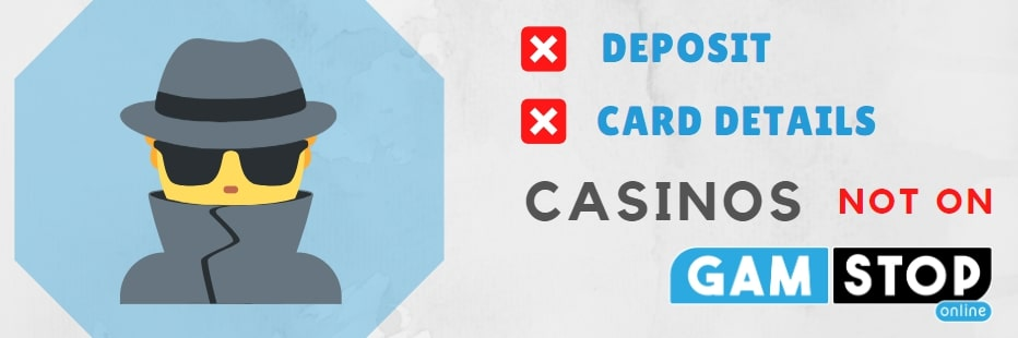 no deposit no cards details casinos not on gamstop for Uk gamblers