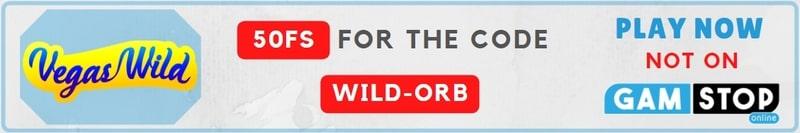 vegas vild free spins no deposit bonus code