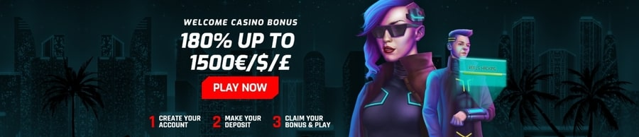 cyber 3077 casino welcome bonus