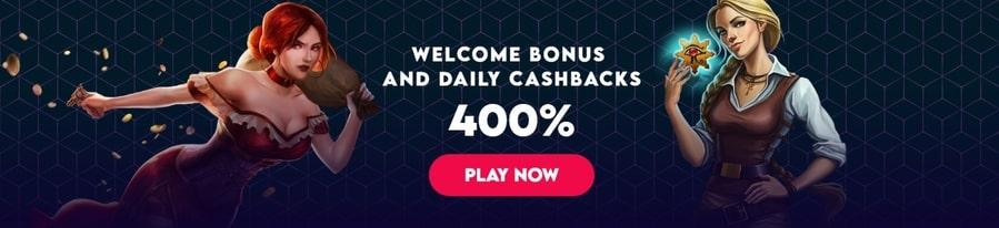divas luck welcome bonus