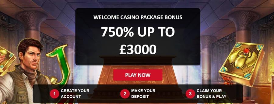 red lion welcome bonus