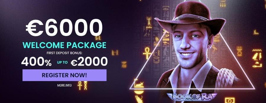 Casinowin welcome bonus