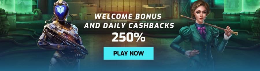 anonymbet online casino welcome bonus