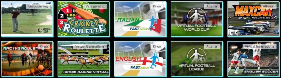 AnonymBet virtual sports